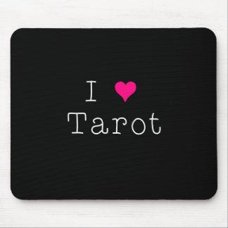 J'aime l'obscurité de tapis de souris de tarot