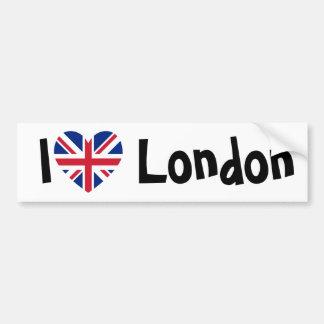 J'aime Londres Adhésifs Pour Voiture