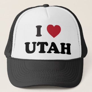 J'aime l'Utah Casquette