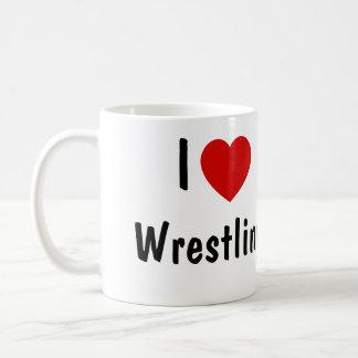 J'aime lutter mug