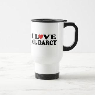 J'aime M. Darcy Mug De Voyage