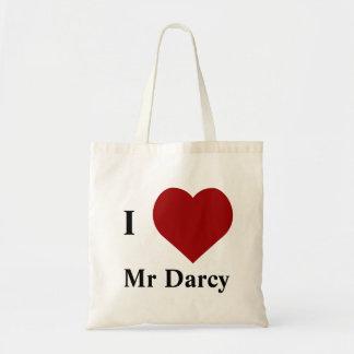 J'aime M. Darcy Sacs En Toile
