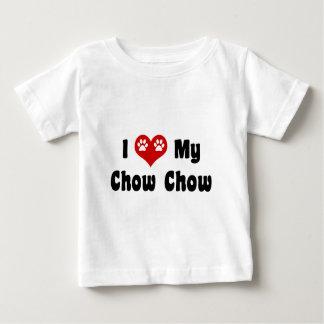J'aime ma bouffe de bouffe t-shirt pour bébé