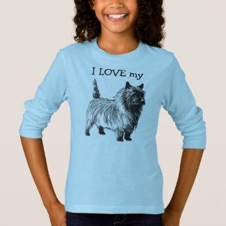 J'AIME ma chemise mignonne de Terrier T-shirt