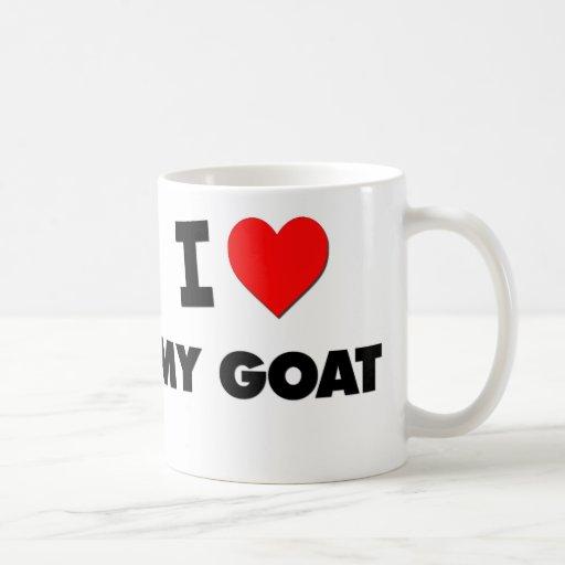 J'aime ma chèvre tasse