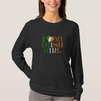 J'aime ma fille irlandaise t-shirt