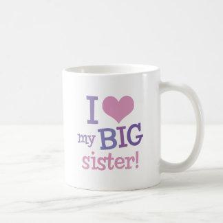 J'aime ma grande soeur mug