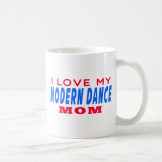 J'aime ma maman de danse moderne tasse