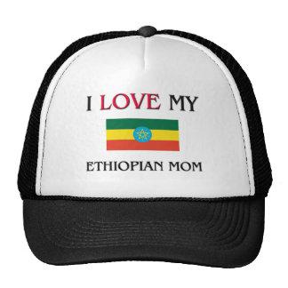 J'aime ma maman éthiopienne casquettes