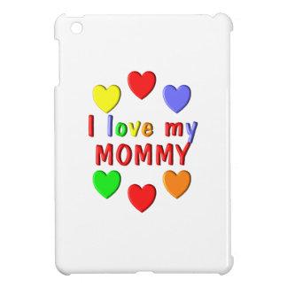 J'aime ma maman étuis iPad mini