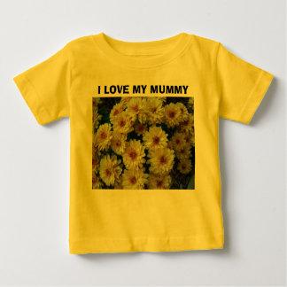 J'AIME MA MAMAN, mamans modifiées la tonalité T-shirt Pour Bébé