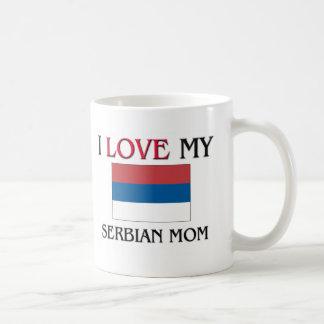 J'aime ma maman serbe mug