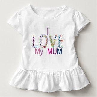 J'aime ma maman t-shirt pour les tous petits