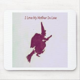 J'aime ma mère dans law1 tapis de souris