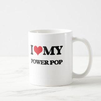 J'aime ma PUISSANCE POP Tasses À Café