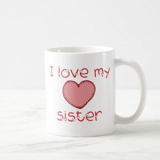 J'aime ma soeur mug