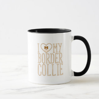 J'aime ma tasse de border collie