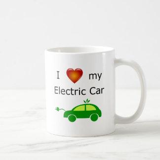 J'aime ma tasse de voiture électrique