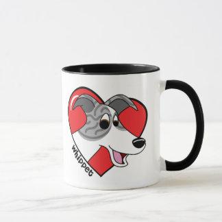 J'aime ma tasse de whippet