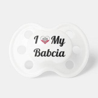 J'aime ma tétine de Babcia