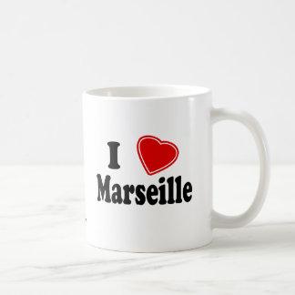 J'aime Marseille Mug Blanc