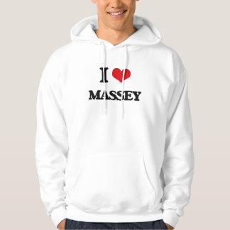 J'aime Massey Sweatshirts Avec Capuche