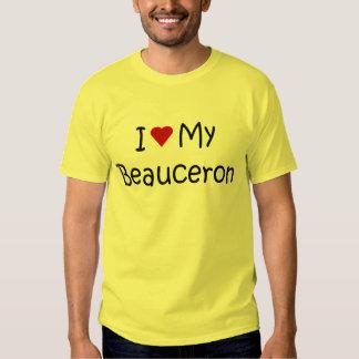 J'aime mes cadeaux et habillement d'amoureux des t-shirts