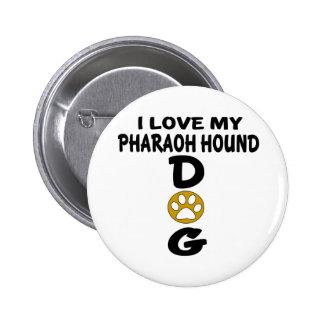 J'aime mes conceptions de chien de chasse de badge