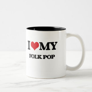 J'aime mes GENS POP Tasses À Café