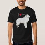 J'aime mes Grands Pyrénées T-shirts