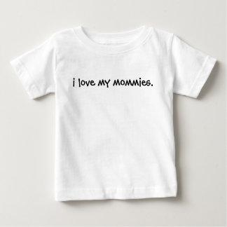 J'aime mes mères pique votre bébé peux être fier t-shirt pour bébé
