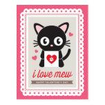 J'aime miaule ! par la carte postale de Valentine