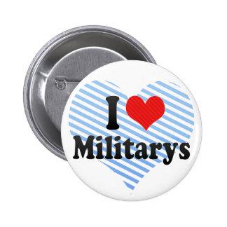 J'aime Militarys Badge