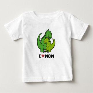 J'aime Mom.ai T-shirt Pour Bébé