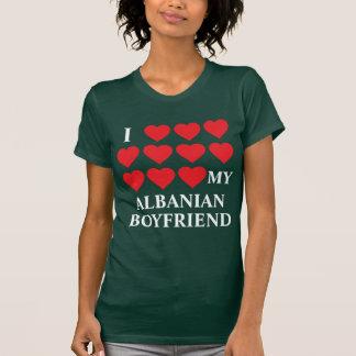 J'aime mon ami albanais t-shirt