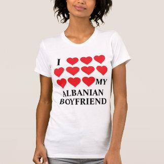 J'aime mon ami albanais t-shirts