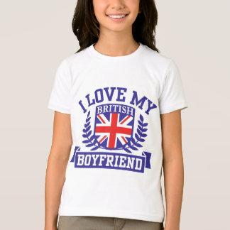 J'aime mon ami britannique t-shirts