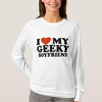 J'aime mon ami Geeky T-shirt