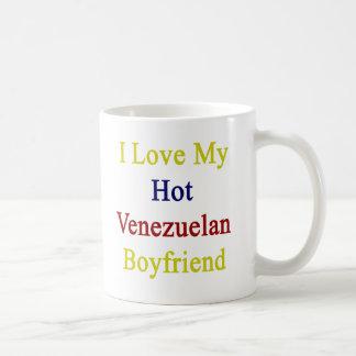 J'aime mon ami vénézuélien chaud mug blanc