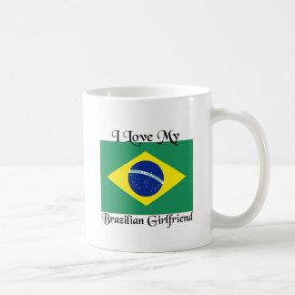 J'aime mon amie brésilienne mug blanc