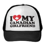 J'aime mon amie canadienne casquette de camionneur