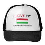 J'aime mon amie hongroise casquette