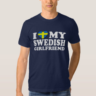 J'aime mon amie suédoise t-shirts