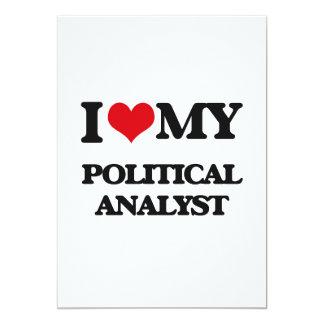 J'aime mon analyste politique invitations
