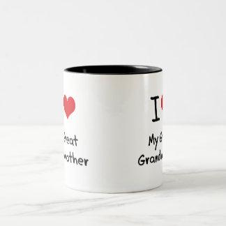 J'aime mon arrière grand-mère tasse 2 couleurs