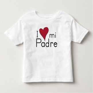 J'aime mon aumônier t-shirt pour les tous petits