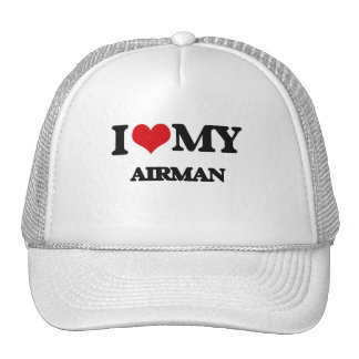 J'aime mon aviateur casquette trucker