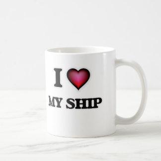 J'aime mon bateau mug