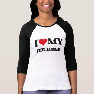 J'aime mon batteur t-shirt