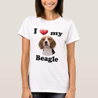 J'aime mon beagle t-shirt